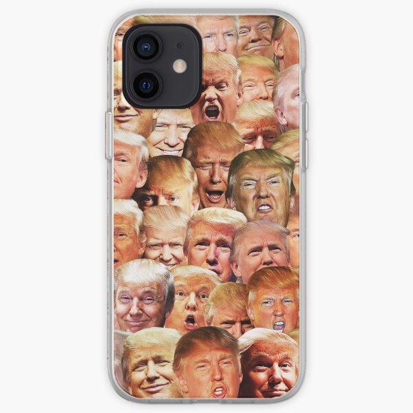 Trump mashup Coque souple iPhone