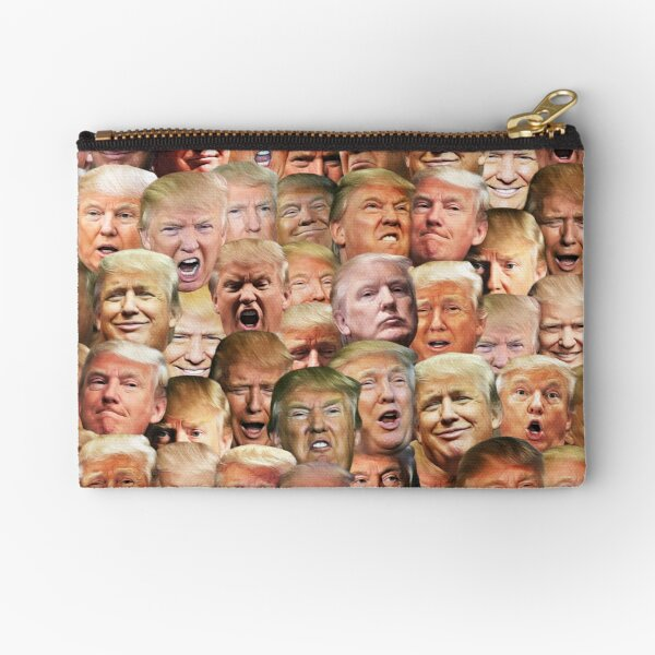 Trump mashup Zipper Pouch