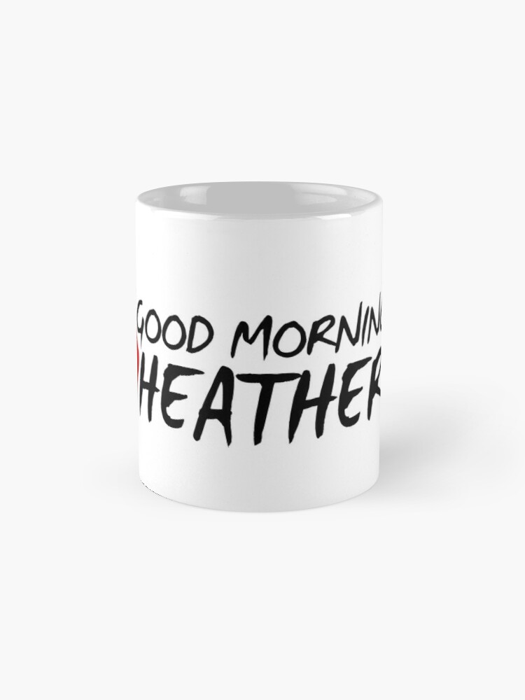 Vista alternativa de Taza Buenos días Heather