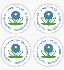 Environmental Protection Agency Sticker