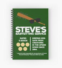 Steve's Babysitter-Service Spiralblock