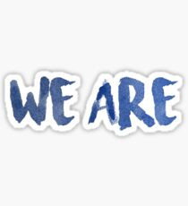 """We Are"" Penn State Sticker"