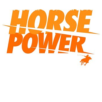 Southwood Cowboys Horse Power T-shirt by Popularcreative
