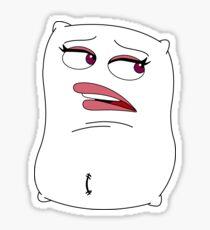 Big Mouth Jay's Pillow Sticker