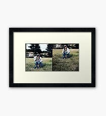 SitDown StandUp Framed Print
