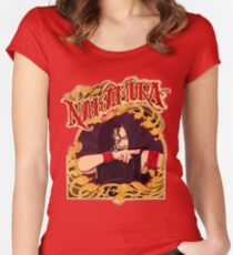Nakamura (limited edition) Women's Fitted Scoop T-Shirt