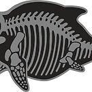 itty bitty ichthyosaur skeleton by thoughtsupnorth