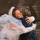 Bride's hug - I missed you so much by Moshe Cohen