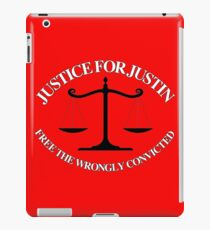 Justice For Justin #2 iPad Case/Skin
