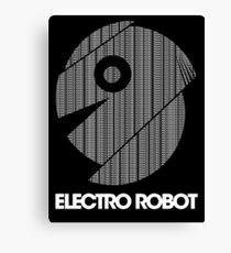 Electro Robot Canvas Print