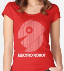 Electro Robot Women's Fitted Scoop T-Shirt