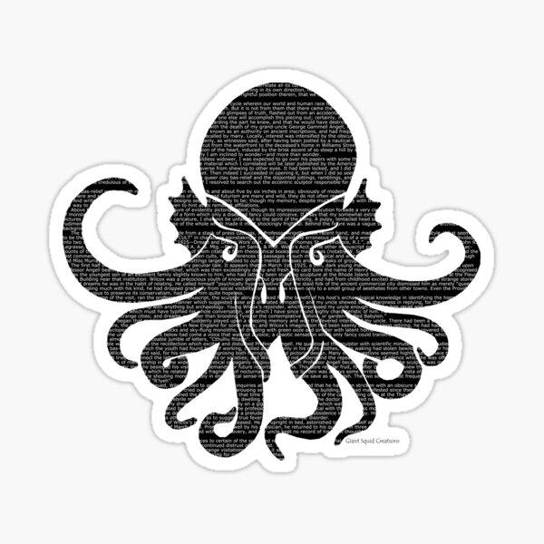 The Call of Cthulu Sticker