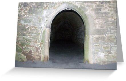 Door in Muckross Abbey by John Quinn