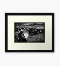 Forceful Retirement Framed Print
