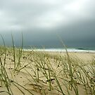 storm over the ocean by ChristineBetts
