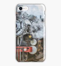 Steam at Track iPhone Case/Skin