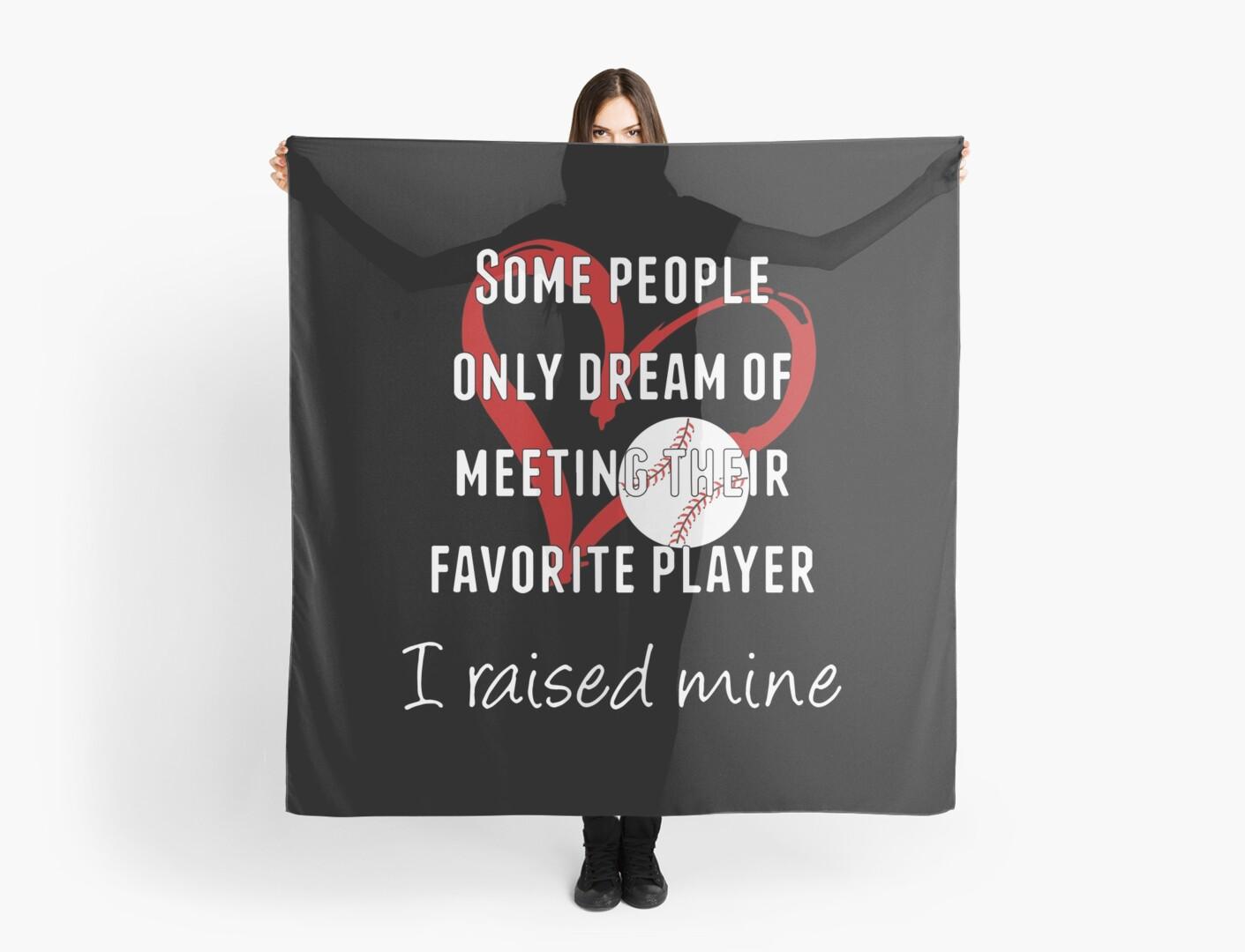 Inspirational Baseball / Softball Mom Geschenke - ich hob Mine ...