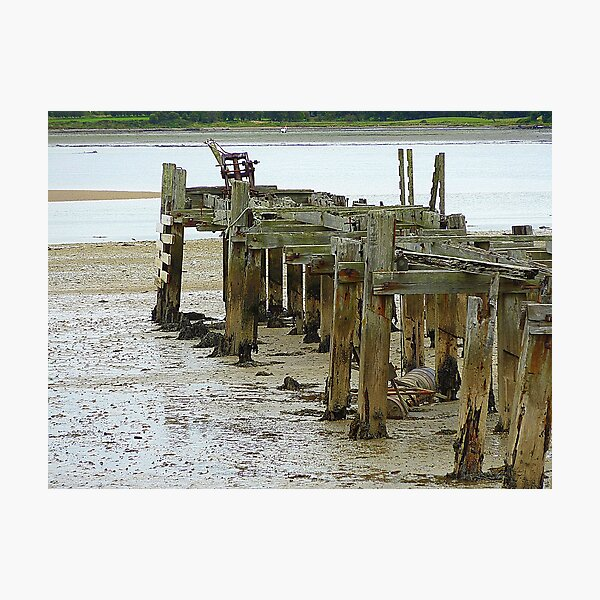 Low Tide At Fahan Pier..........................................Ireland Photographic Print
