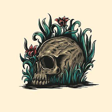 skull by motymotymoty