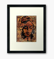 Da Vinci Woman Framed Print