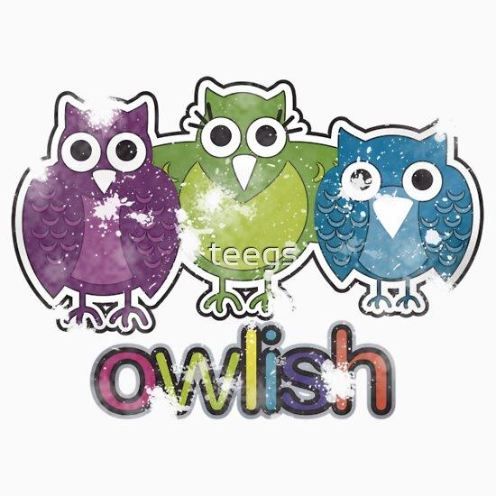 TShirtGifter presents: owlish retro