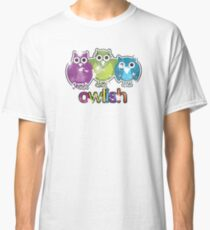 owlish retro  Classic T-Shirt
