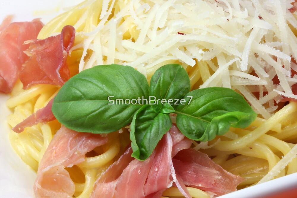 Spaghetti Carbonara With Saffron by SmoothBreeze7