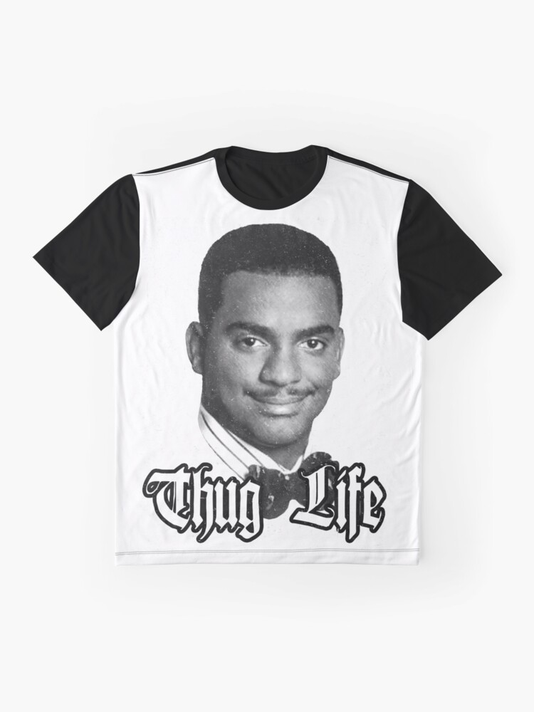 Alternative Ansicht von Thug Life Carlton Grafik T-Shirt