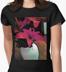 Pink Lily in a Vase T-Shirt