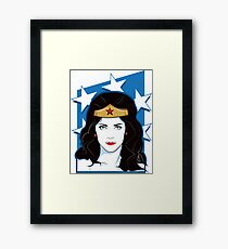 Princess Warrior from the Amazon Framed Print