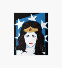 Princess Warrior from the Amazon Art Board