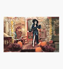 Gorgeous witch Photographic Print