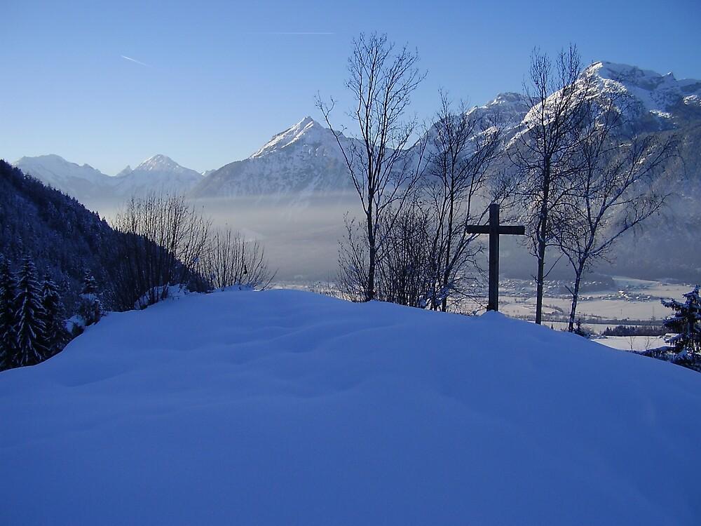 Snow Cross  by tbetts