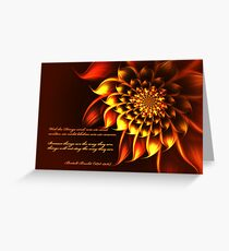 Impermanence Greeting Card
