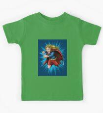 A Super Heroine Kids Tee
