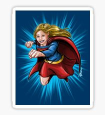 A Super Heroine Sticker