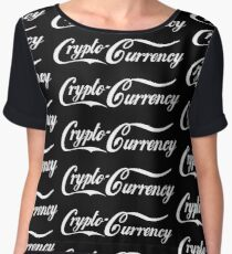 Crypto-Currency Women's Chiffon Top