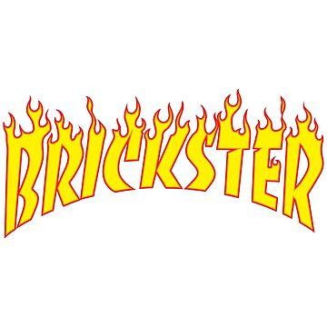 Brickster Skater- Thrasher Verions by futuristicvlad