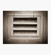 Metal Vent Grill Photographic Print