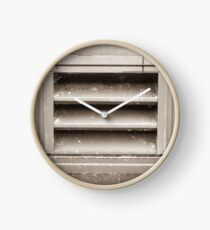 Metal Vent Grill Clock