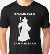Remain calm! Wizard Edition Unisex T-Shirt