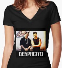 Despacito Women's Fitted V-Neck T-Shirt