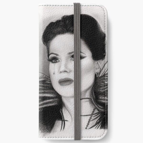 A Broken Queen iPhone Wallet