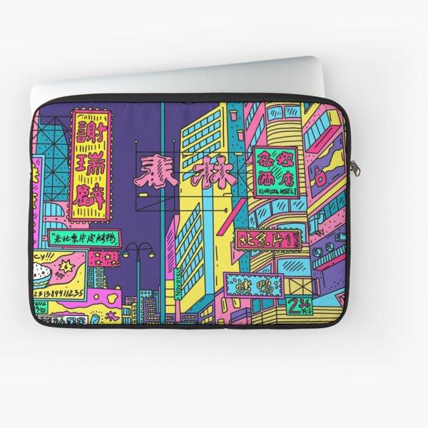 Neon city Laptop Sleeve