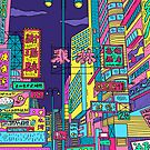 Neon city by theeighth