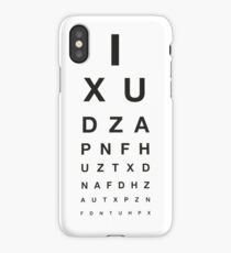 Eye Test iPhone Case/Skin