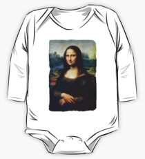 Mona Lisa Restored One Piece - Long Sleeve