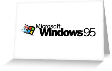 windows95 - the window of world by gregmuo