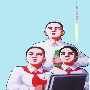 DPRK North Korean Students and a Rocket by radpidgeons