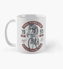 Pedal Pusher Club Bicycle Racing Team  Mug